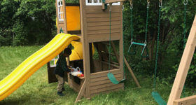 James' New Playset!
